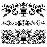 Antique vector borders Royalty Free Stock Photography