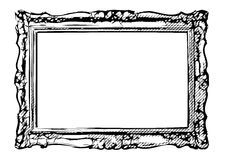 The antique vector frame Royalty Free Stock Image