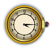 Antique Vector Illustrator Stop Watch Stock Photography