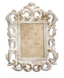 Antique victorian style frame. isolated on white Royalty Free Stock Images