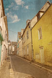 Antique Village in france Europe Royalty Free Stock Photography