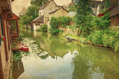 Antique Village in france Europe Stock Images