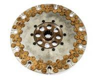 Antique automotive cork clutch disc assembly royalty free stock photos