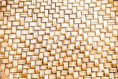 Antique vintage  bamboo handicraft background Stock Image
