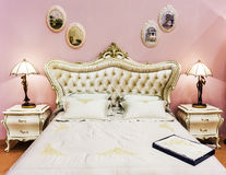 Antique Vintage Bed Royalty Free Stock Photo