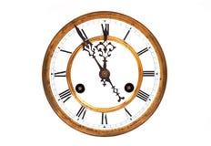 Antique vintage clock Stock Image