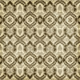 Antique Vintage Damask Style Pattern Christmas Wallpaper Background Royalty Free Stock Photos