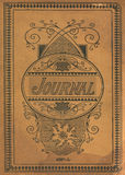 Antique Vintage Diary Journal Book Cover Royalty Free Stock Images