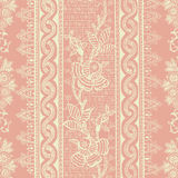 Antique Vintage Floral Bohemian Background Royalty Free Stock Photos