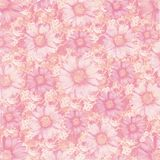 Antique vintage flowers background Royalty Free Stock Photo