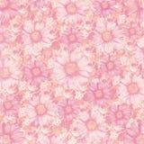 Antique vintage flowers background vector illustration
