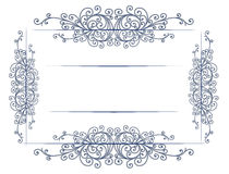 Antique vintage lace border Stock Image