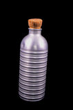 Antique Vintage Metal Aluminium Bottle Royalty Free Stock Photography