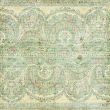 Antique Vintage paisley indian background Royalty Free Stock Photos