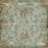 Antique Vintage paisley indian background. Design royalty free stock images