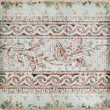 Antique Vintage paisley indian background Stock Photos
