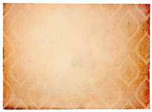 Antique vintage paper background Stock Photography