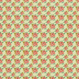 Antique Vintage Rose Wallpaper Pattern stock photo