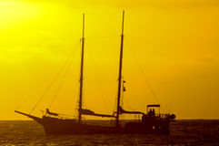 Antique Vintage Sail Vessel Royalty Free Stock Photo