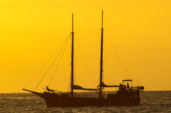 Antique Vintage Sail Vessel Royalty Free Stock Photos