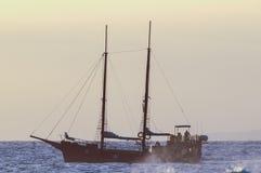 Antique Vintage Sail Vessel Stock Image