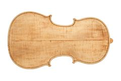 Back plate of an antique violin royalty free stock photography