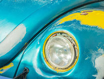 Antique Volkswagon bug Royalty Free Stock Images
