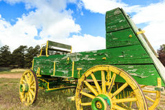 Antique Wagon Royalty Free Stock Photography