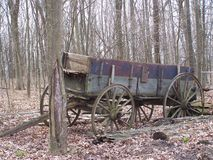 Antique Wagon Royalty Free Stock Images