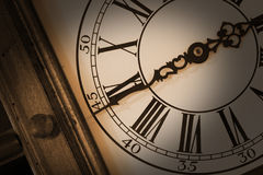 Antique wall clock Royalty Free Stock Images