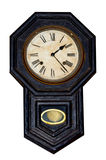 Antique wall clock Stock Photo