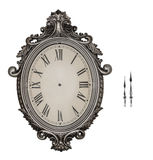 Antique wall clock isolated. Stock Photos