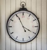 Old Wall Clock Royalty Free Stock Photos