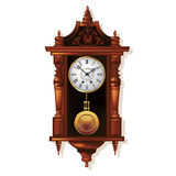 Antique wall clock Royalty Free Stock Photo