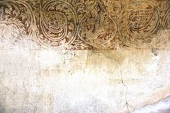 Antique wall Stock Image