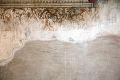 Antique wall Royalty Free Stock Images