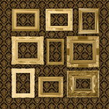 Antique wallpaper Royalty Free Stock Photo