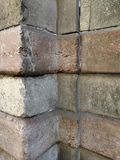 Antique walls with stone blocks Stock Image