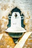 Antique Washing Basin Stock Image