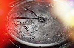 Antique watch  dial , abstract background . royalty free stock photos