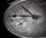 Antique watch  dial , abstract background . stock image