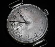 Antique watch  dial , abstract background . royalty free stock photo