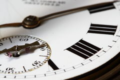 Antique watch face B Stock Photo
