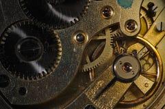 Antique watch mechanism Stock Photos