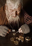 Antique watchmaker Stock Photography