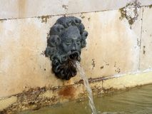 Antique water fountain Royalty Free Stock Images