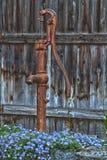 Antique Water Pump Stock Photo