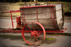 Antique Water Wagon. Royalty Free Stock Photo