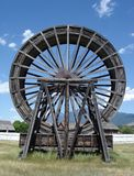 Antique Water Wheel in British Columbia Canada Stock Photo