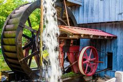 Antique Water Wheel Royalty Free Stock Photo